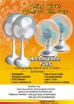 RECHARGEABLE FAN AND BULB